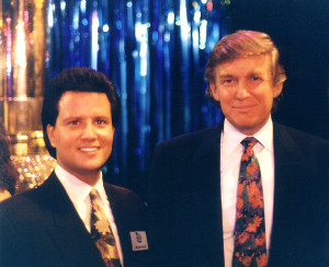 Ray received the Outstanding Promoter of the Year award from Donald J. Trump